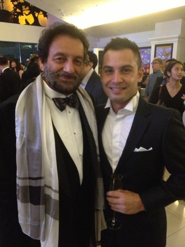 Keagan and Shekhar Kapur