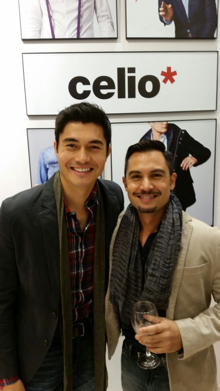 Keagan and Henry at Celio