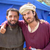 On Location of 'Marco Polo' Film Set