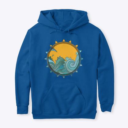Waves & Sun Hoodie