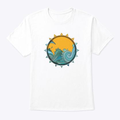 Waves & Sun Tshirt
