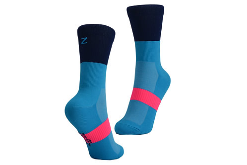 NOB SOCK - ELECTRIC BLUE/NAVY