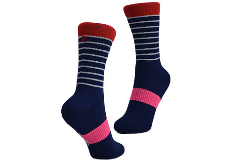 BRETON STRIPE - NAVY/RED