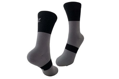 NOB Sock - Grey/Black