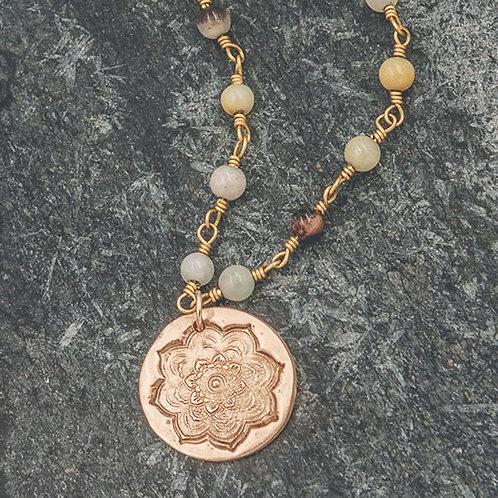 Mandala Short Necklace
