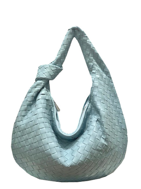 Woven Hobo with knot