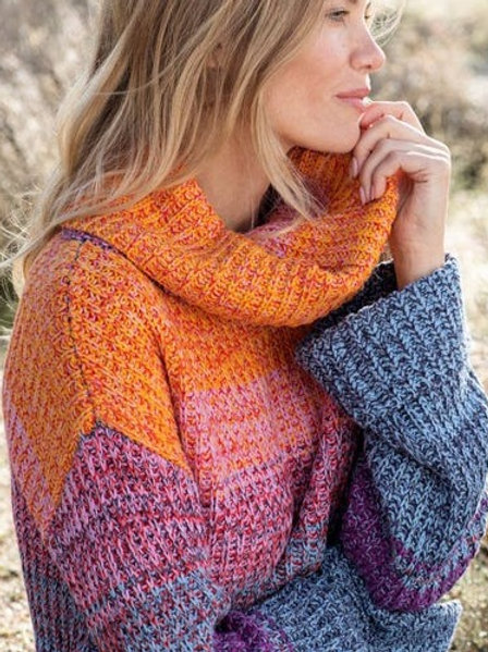 Slouch Cowl Neck Sweater