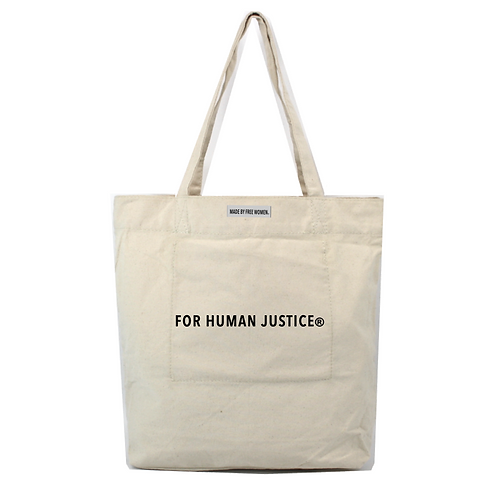 For Human Justice Market Tote