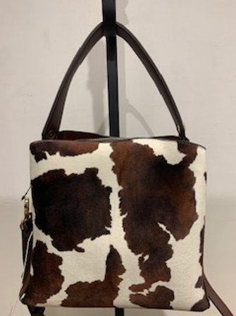 CowPrint Bucket Bag