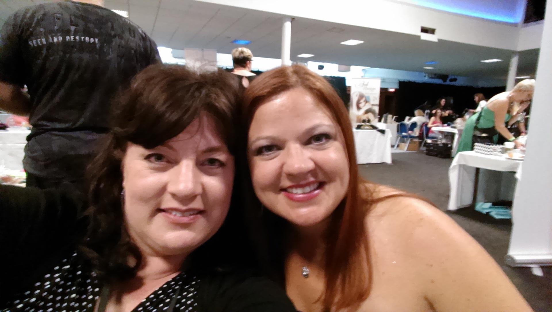 With Jill Patten