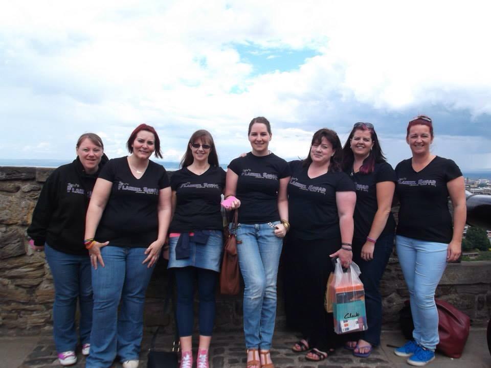 Flannel Squad at Edinburgh Castle