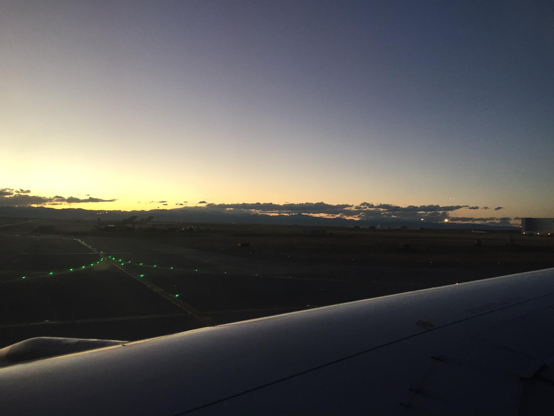 Layover in Denver (hello Rockies!)