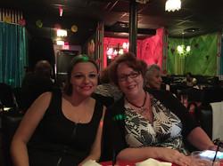 Jen and Nancy at LIPS