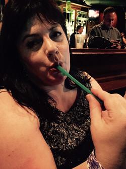Mmm...penis straw