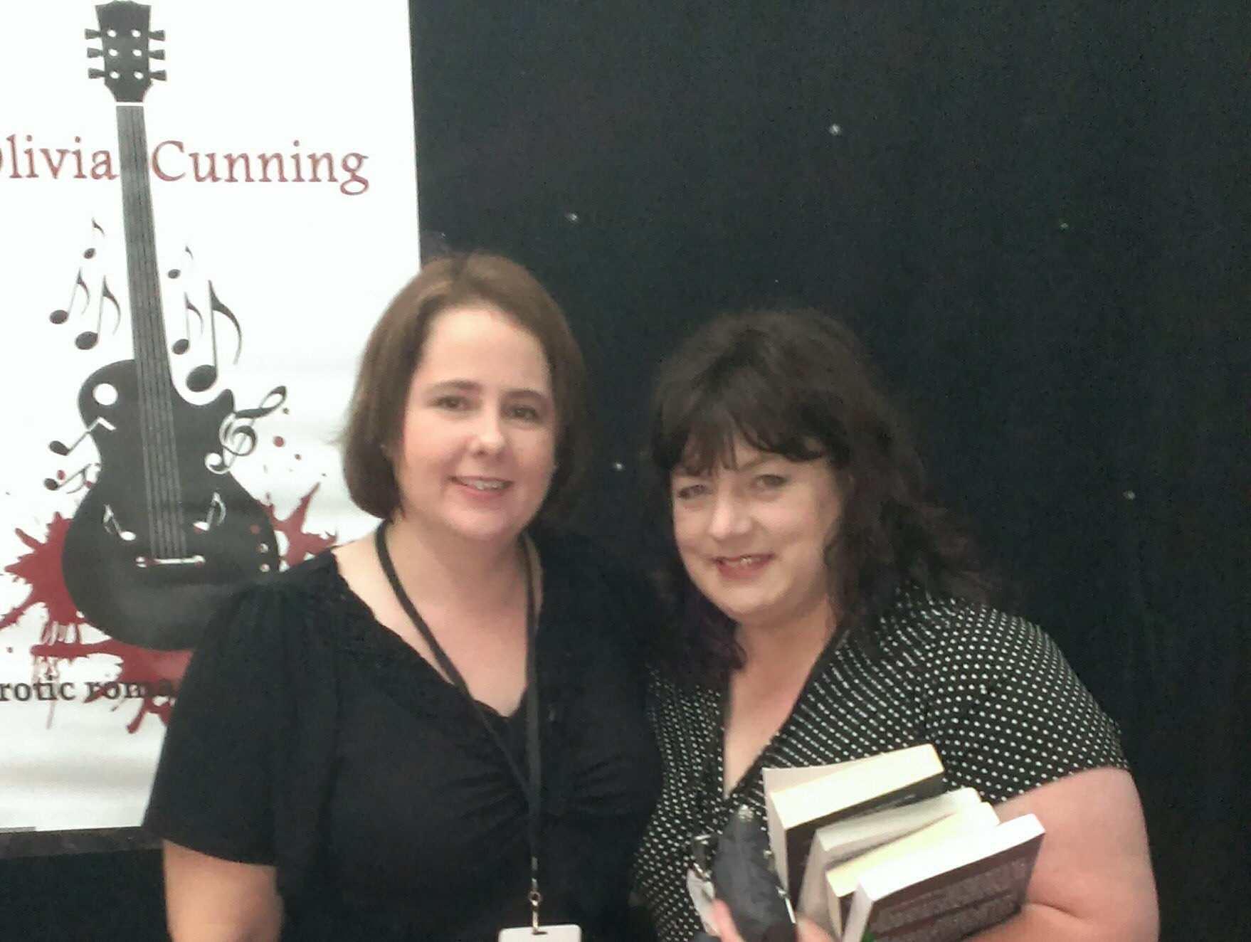 with Olivia Cunning