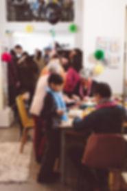 Patron & fils, votre atelier de couture à Paris organise vos évènements privés : anniversaires, EVJF, baby shower...