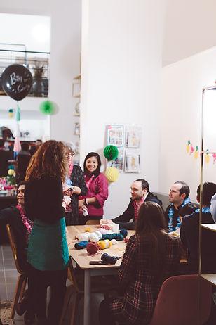 Organisation d'anniversaires chez Patron & fils, votre atelier de couture à Paris