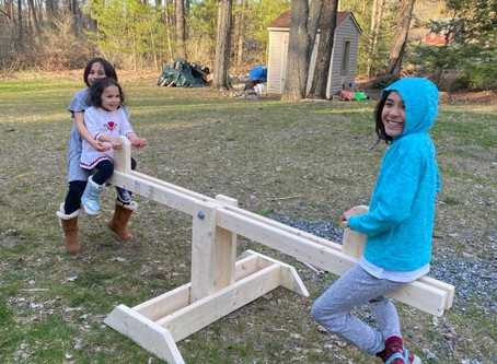 Check out this awesome Seesaw that Bella and her family built!