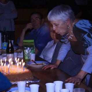 Roselyne Sarazin fête les 20 ans de la compagnie
