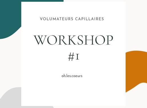 Lancement des WORKSHOPS