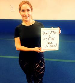 woman lost 27 pounds