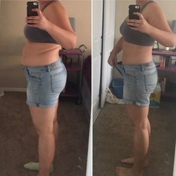 female before and after transformation