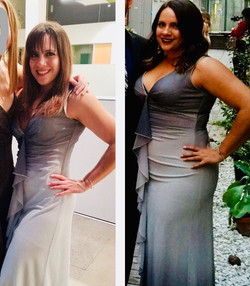 Female weight loss before and after 40 p