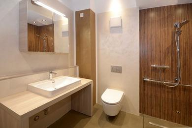 altersgerechtes Wohnen- Badezimmer