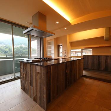 料理教室もできるキッチン