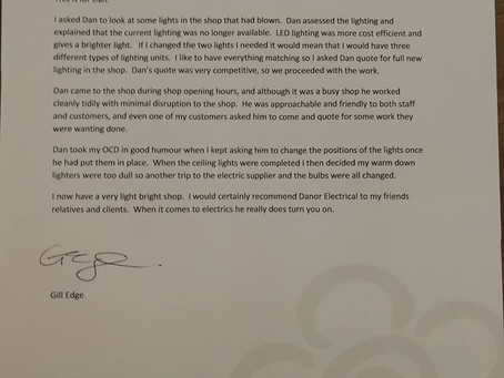 I Love A Letter Like This!