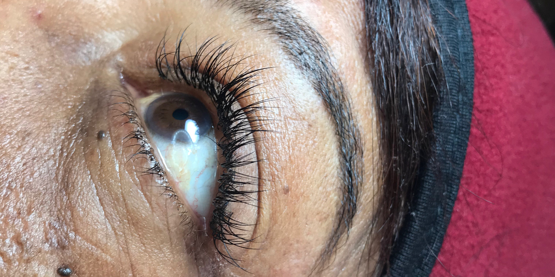 10-12MM LASHES  BROW SHAPING/TINTING