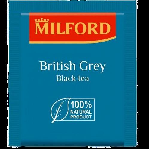 Пакетированный чай Milford / черный с бергамотом Эрл Грей / 200 пакетиков