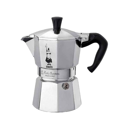Кофеварка BIALETTI MOKA EXPRESS / гейзерная металлик на 6 чашек (240 мл)