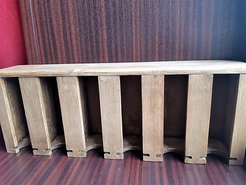 Шкатулка для чайных пакетиков деревянная 6 секций / массив дерева
