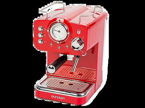 Кофеварка  EM1500/RD рожкового типа/ Oursson / Корея