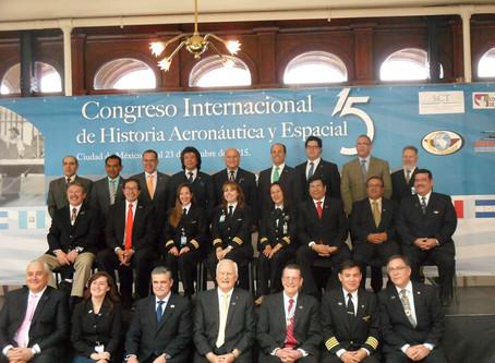 XV Congreso Internacional de Historia Aeronáutica y Espacial, Ciudad de México