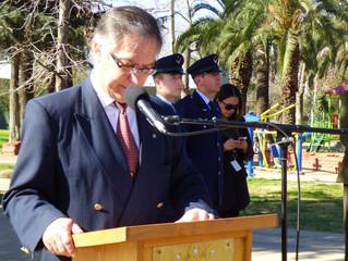 """Conmemoración del """"Primer vuelo en avión realizado en Chile"""""""