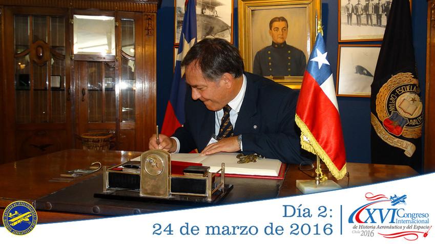 Día 2: XVI Congreso Internacional de Historia Aeronáutica y del Espacio