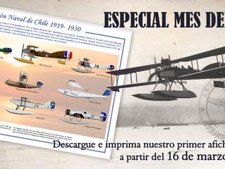 """Primer afiche imprimible conmemorativo """"Mes del Aire"""" del IIHACH"""