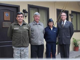 Historiadora de la Fuerza Aérea del Brasil realizó una visita técnica a nuestras instalaciones