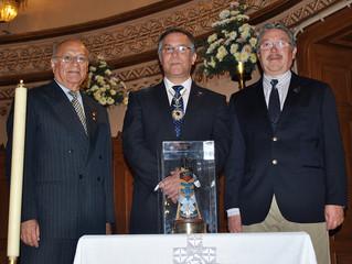 IIHACH otorga Cruz Virgo Lauretana a delegaciones de FIDEHAE en México.
