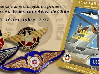 71 Aniversario de la creación de la Federación Aérea de Chile