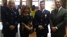 El Instituto de Investigaciones Histórico Aeronáuticas de Chile, en la Ceremonia de premiación de la