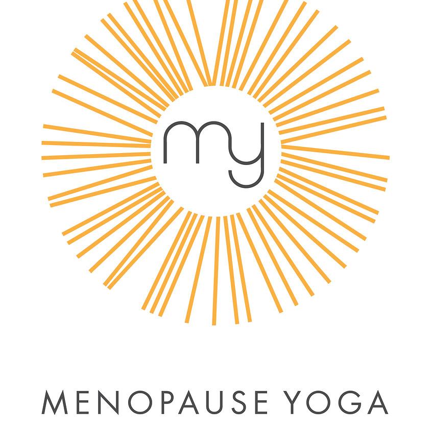 Menopause Yoga Teacher Training JUNE 2021