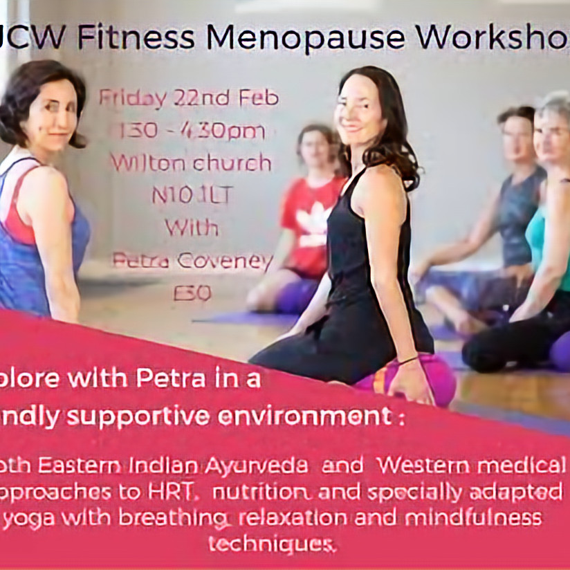 MY Menopause - Yoga & Wellbeing Workshop in London N10