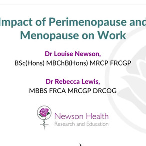 Menopause forces women to leave their jobs or pass up promotions, says study.