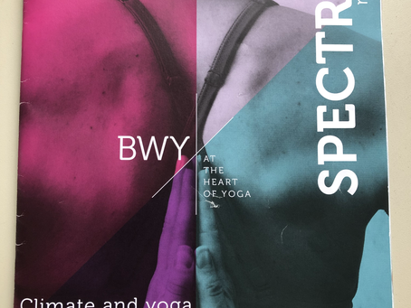 Menopause Yoga Featured in British Wheel of Yoga Magazine