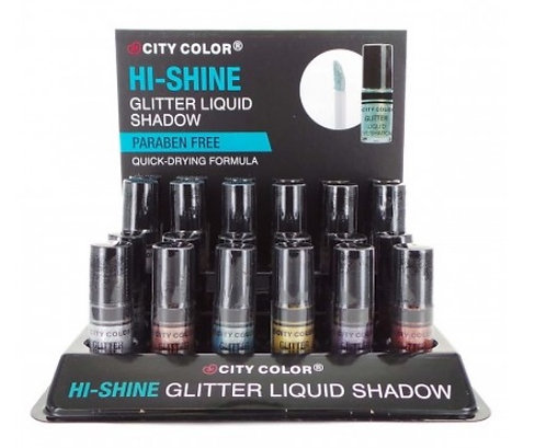 CITY COLOR Hi-Shine Glitter Liquid Shadow