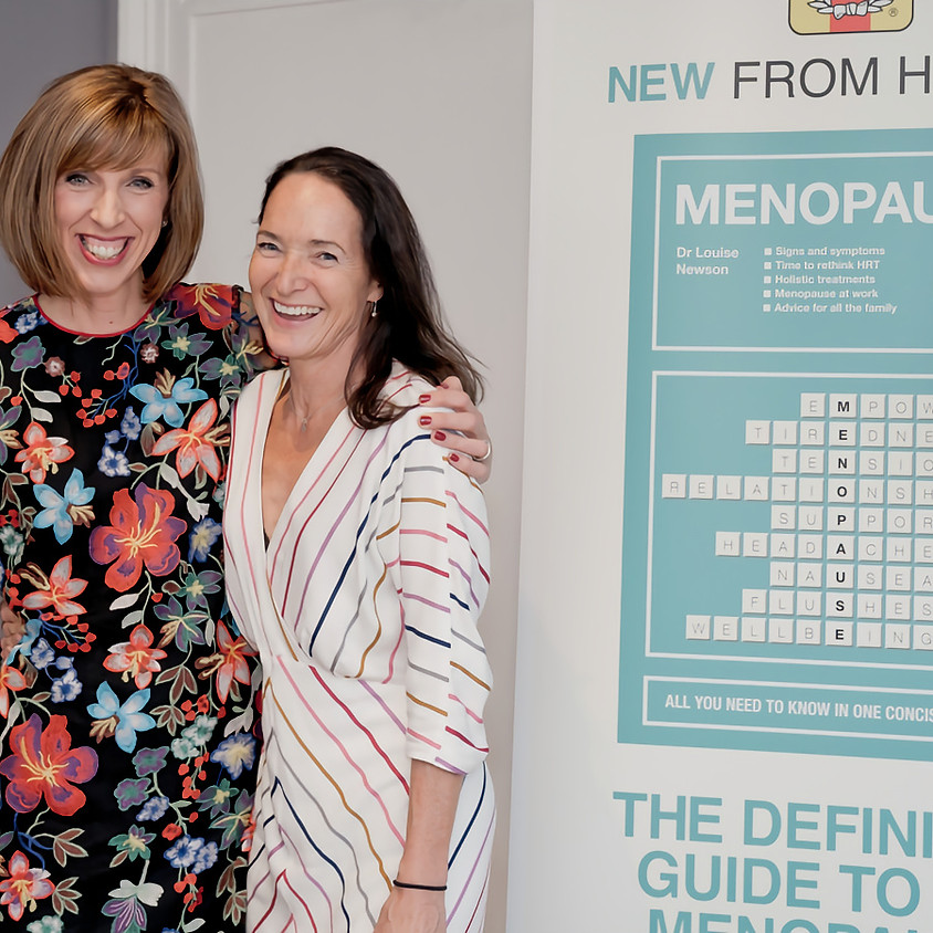 Menopause Workshop Day One: with Newson Health GP Dr Sarah Ball