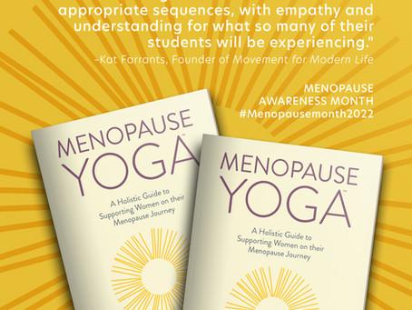 Menopause Yoga Book for Teachers